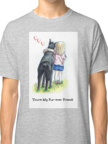 Puppy Love Fur-ever Friend Classic T-Shirt