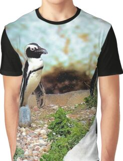 Penguin gathering Graphic T-Shirt