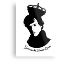 Sherlock Drama Queen Metal Print