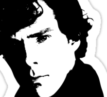 Sherlock Drama Queen Sticker