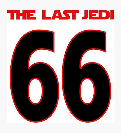 The_Last_Jedi_66 Photographic Print