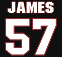 NFL Player James Anderson fiftyseven 57 by imsport