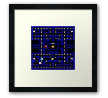 The World of Pac-Man Framed Print