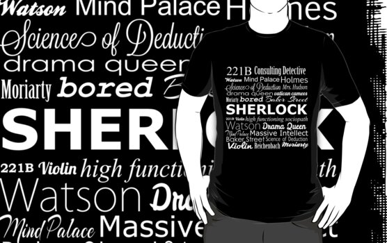 Sherlock in Words by tabyway