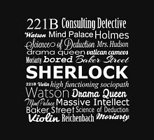 Sherlock in Words Unisex T-Shirt