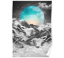 It Seemed To Chase the Darkness Away (Guardian Moon / Winter Moon) Poster