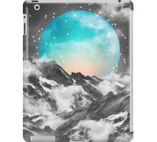 It Seemed To Chase the Darkness Away (Guardian Moon / Winter Moon) iPad Case/Skin