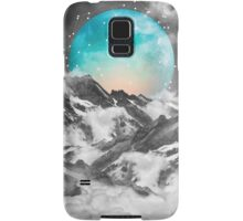It Seemed To Chase the Darkness Away (Guardian Moon / Winter Moon) Samsung Galaxy Case/Skin