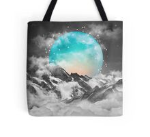 It Seemed To Chase the Darkness Away (Guardian Moon / Winter Moon) Tote Bag