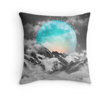 It Seemed To Chase the Darkness Away (Guardian Moon / Winter Moon) Throw Pillow