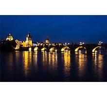 Charles Bridge, Prague Photographic Print