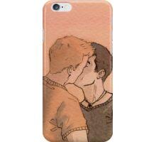 Kissing Bruno iPhone Case/Skin