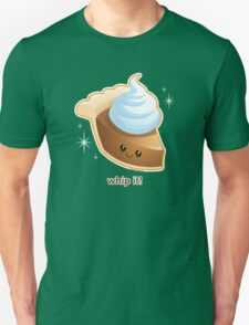 Whip It! Cute Pumpkin Pie T-Shirt