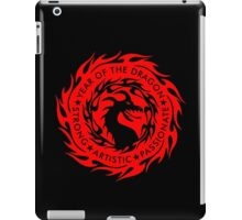Chinese Zodiac Year of The Dragon Graphic Design iPad Case/Skin