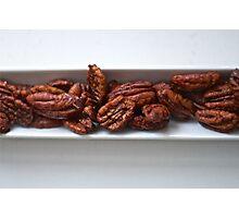 Spicy Roasted Honey Pecans Photographic Print