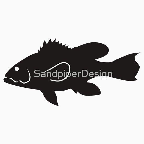 largemouth bass silhouette - photo #21