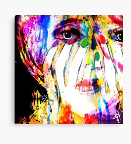 Colour Me Canvas Print