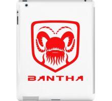 Dodge Bantha iPad Case/Skin