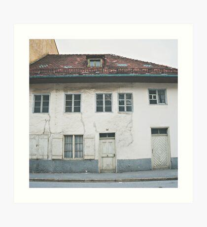 Bad Tölz Abode Art Print