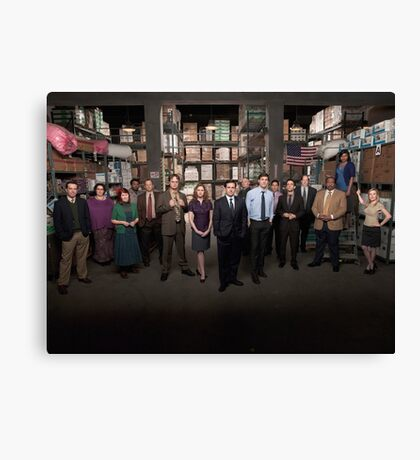 The Office US Canvas Print