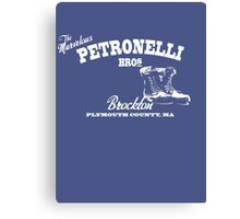Petronelli Brothers Canvas Print
