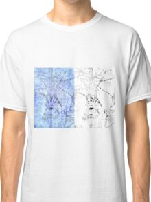Bare trees branches 3 Classic T-Shirt