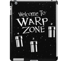 Welcome to Warp Zone iPad Case/Skin
