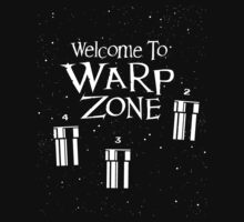 Welcome to Warp Zone One Piece - Long Sleeve