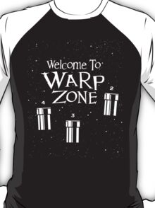 Welcome to Warp Zone T-Shirt