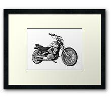 Yamaha 32 Ci CUSTOM Framed Print