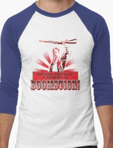 Carry a Boomstick Men's Baseball ¾ T-Shirt