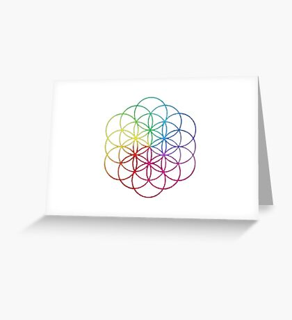 Coldplay New Album Logo Greeting Card