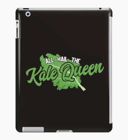 Vegetarian Vegan Design All Hail the Kale Queen!  iPad Case/Skin