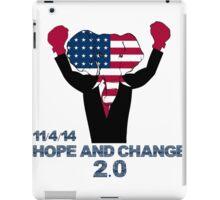 Hope and Change 2.0 iPad Case/Skin