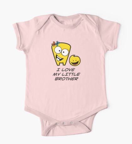 I LOVE MY LITTLE BROTHER One Piece - Short Sleeve