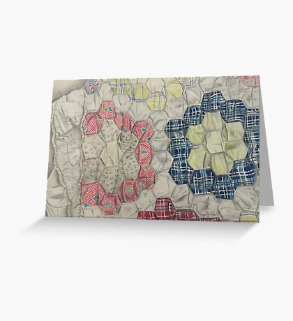A Quilted Display Greeting Card