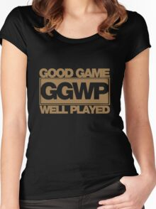 WELL PLAYED Women's Fitted Scoop T-Shirt