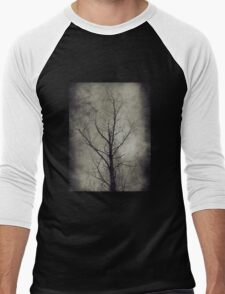Dark trees 4 Men's Baseball ¾ T-Shirt