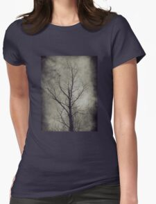 Dark trees 4 Womens Fitted T-Shirt