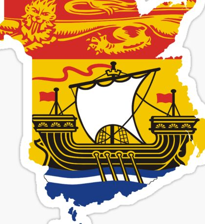 New Brunswick Sticker