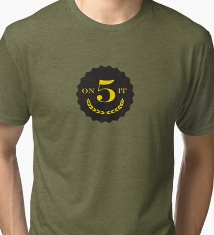 The Original 5 on iT Sports Society Brand Logo Goods Tri-blend T-Shirt