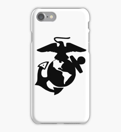 United States Marine Corps, USMC, Eagle, Anchor, Globe, EGA, Logo iPhone Case/Skin