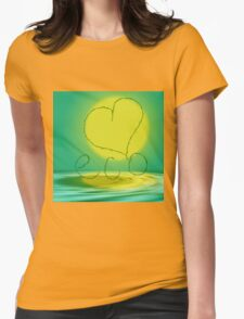 Love eco Womens Fitted T-Shirt