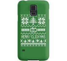 Ugly Christmas Sweater - Camera / Merry 'Click'Mas Samsung Galaxy Case/Skin