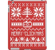 Ugly Christmas Sweater - Camera / Merry 'Click'Mas iPad Case/Skin
