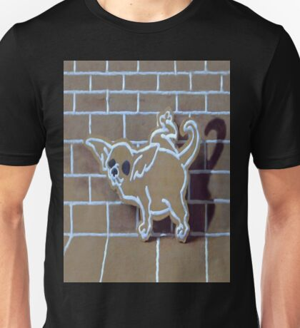 GINGERBREAD CHIHUAHUA SMARTPHONE CASE (Graffiti) Unisex T-Shirt