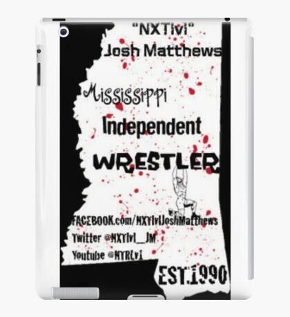 NXTlvl Josh Matthews MS Indy Wrestler iPad Case/Skin