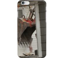 Destruction of the past. Window to the future... iPhone Case/Skin