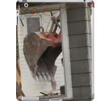 Destruction of the past. Window to the future... iPad Case/Skin