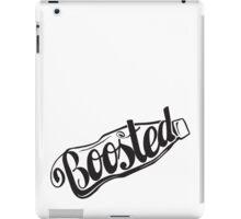 2 Litre Boosted Popbottle - BLACK iPad Case/Skin